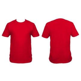 Camiseta cuello redondo tipo T-Shirts