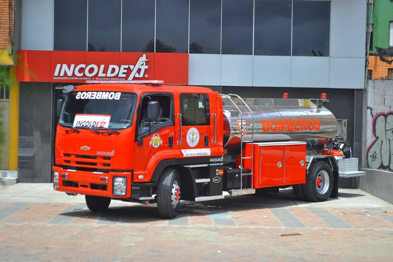 Vehículo bomberos Incoldext