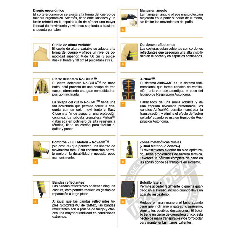 a33a1a42b Traje Bombero Innotex Energy - Incoldext