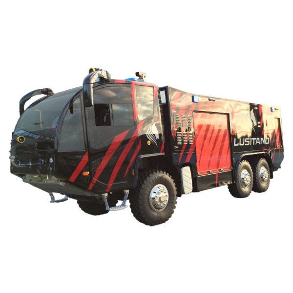 Vehiculo Bomberos Jacinto Arff