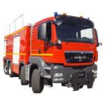 Vehiculo Bomberos con cisterna VTGC