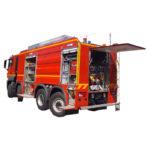 Vehiculo para bomberos con cisterna VTGC