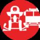 Vehículos y equipos para bomberos icono Incoldext