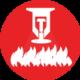 Ingenieria y sistemas contra incendios icono Incoldext