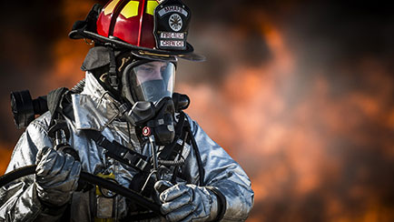 Linea bomberos menu