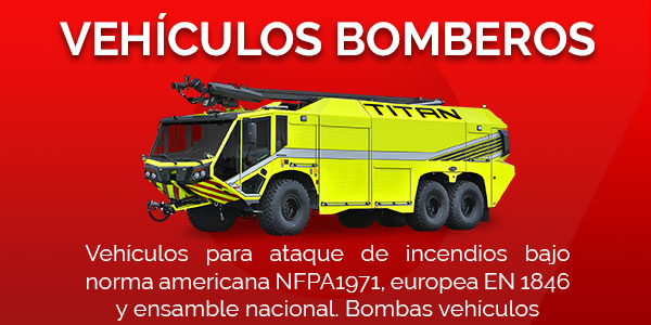 Vehículos bomberos